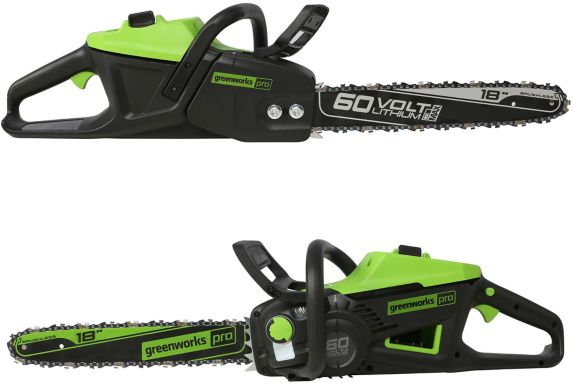 Greenworks 60V Brushless Chainsaw, 18-in Product image