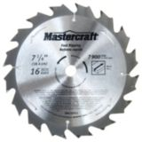 Mastercraft Circular Saw Blade, 7-1/4-in, 16T | Mastercraft | Canadian Tire