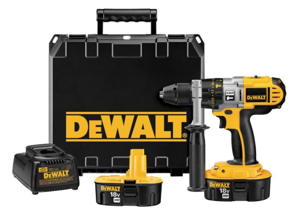 DEWALT 18V NiCad XRP Cordless Hammer Drill, 1/2-in Product image