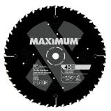MAXIMUM 40T General Purpose/Framing Circular Saw Blade, 10-in   MAXIMUM   Canadian Tire