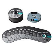 MAXIMUM Metal Cutting Wheel Set, 50-pk