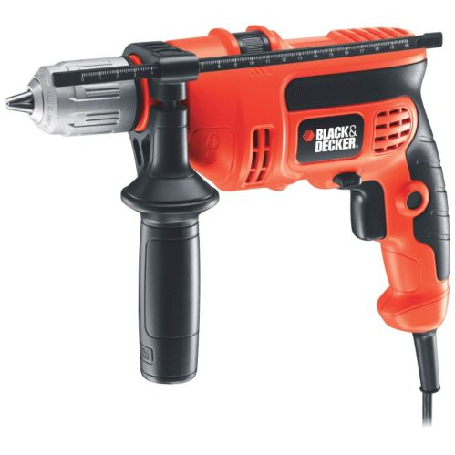 Perceuse à percussion Black & Decker, 6 A, 1/2 po
