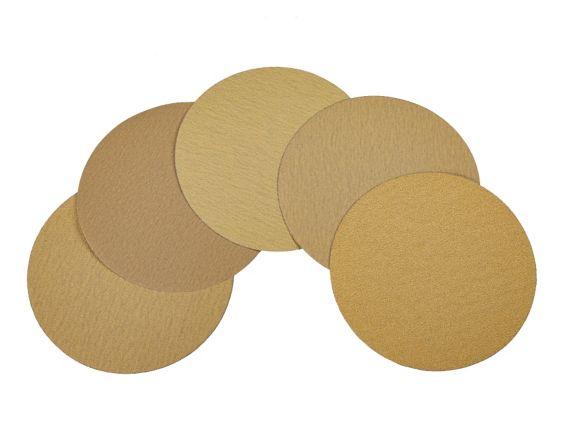 MAXIMUM Assorted Hook & Loop Sanding Disks, 7-in, 5-pk