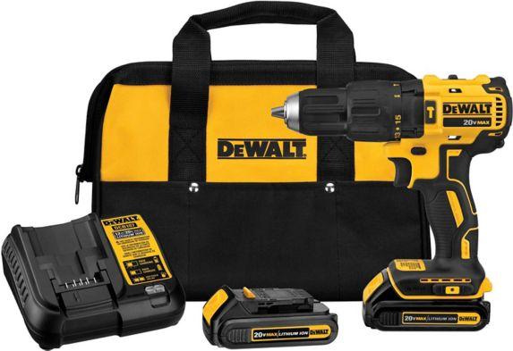 DEWALT DCD778C2 20V MAX Brushless Compact Cordless Hammer Drill Kit, 1/2-in Product image