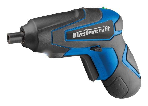 Mastercraft 4V Li-Ion Compact Cordless Screwdriver, 1/4-in Product image