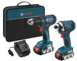 Bosch 18V Li-Ion Drill Driver and Impact Driver Combo Kit | Bosch