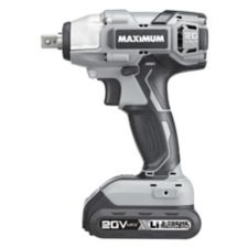 1 2 Cordless Impact >> Maximum 20v Max Li Ion Cordless Impact Wrench 1 2 In
