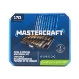 Mastercraft Metal and Masonry Drill and Drive Set, 170-pc | Mastercraft | Canadian Tire
