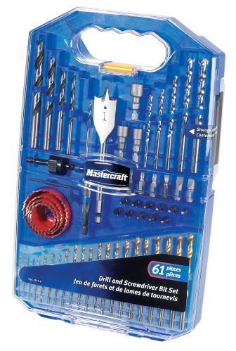 Mastercraft 61-piece Drill and Drive Accessory Set