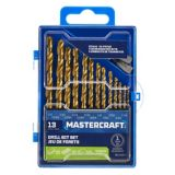 Mastercraft Titanium Drill Bit Set, 13-pc | Mastercraft | Canadian Tire
