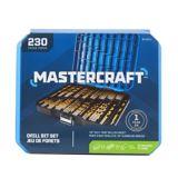Mastercraft Titanium-Coated Drill Bit Set, 230-pc   Mastercraftnull