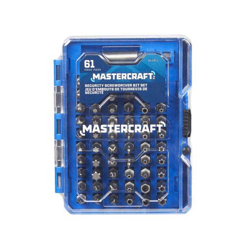 Mastercraft Security Bit Set, 61-pc Product image