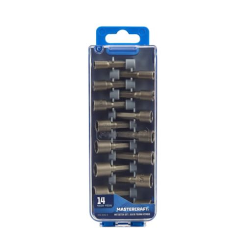 Mastercraft Nut Driver Set, 14-pc