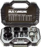 MAXIMUM Plumber's Carbide Tip Hole Saw Set, 9-pc | MAXIMUM | Canadian Tire