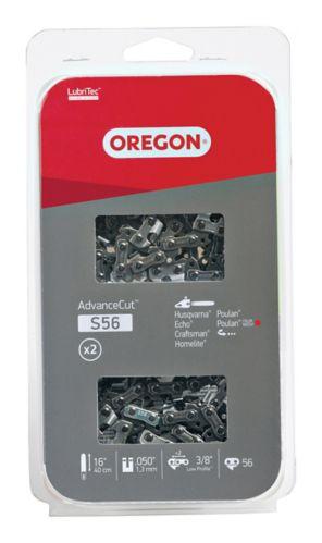 Oregon® S56 Cutting Chain, 16-in, 2-pk
