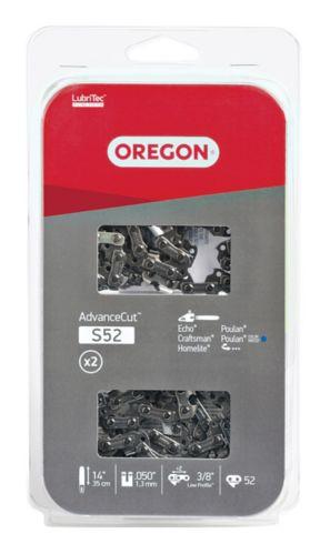 Oregon® S52 Cutting Chain, 14-in, 2-pk