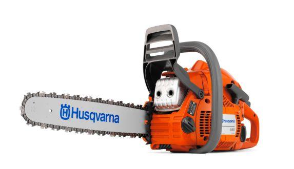 Husqvarna 445e 50.2cc Gas Chainsaw, 18-in