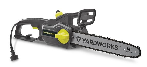 Yardworks 9A Corded Electric Chainsaw, 14-in