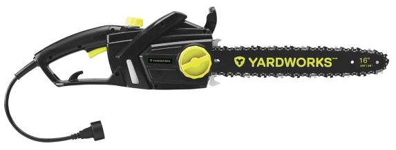 Yardworks 14A Corded Electric Chainsaw, 16-in