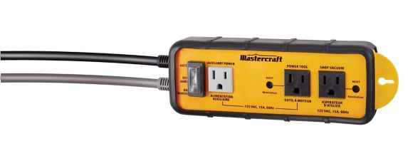 Mastercraft Intelligent Dust Collection Power Switch