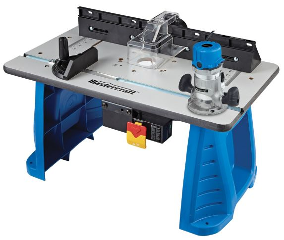 Mastercraft 9.5A Fixed-Base Router andRouterTable