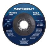 Mastercraft 6A Angle Grinder with Bonus Cut-Off Disc & Guard, 4.5-in | Mastercraft | Canadian Tire
