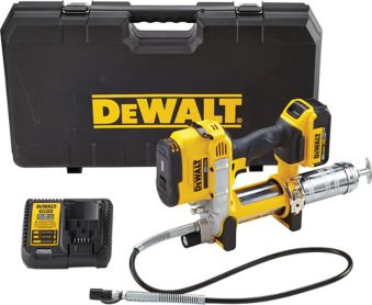 DEWALT 20V Max Li-Ion Cordless Grease Gun Kit