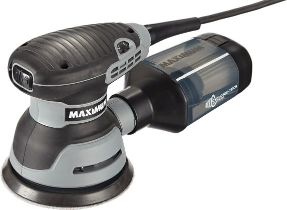 MAXIMUM 3A Random Orbit Sander with Cyclonic Dust Collection, 5-in