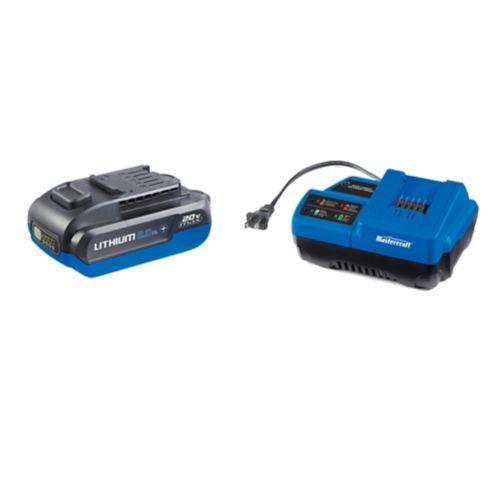Trousse de batterie compacte Mastercraft 20 V Max 2 Ah, 90 W