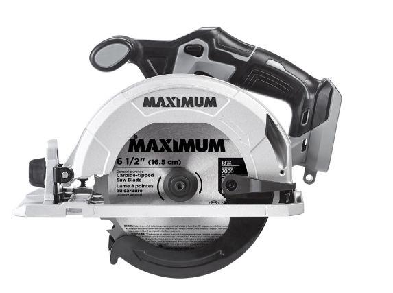 MAXIMUM 20V Max Cordless Circular Saw (Tool Only), 6-1/2-in