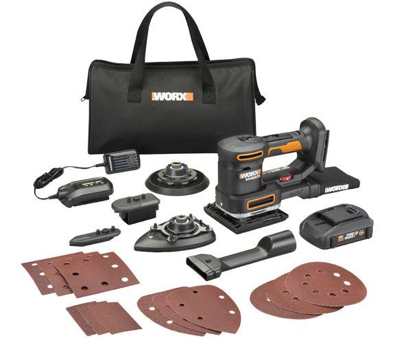 WORX 20V 5-in-1 Multi Sander Kit Product image