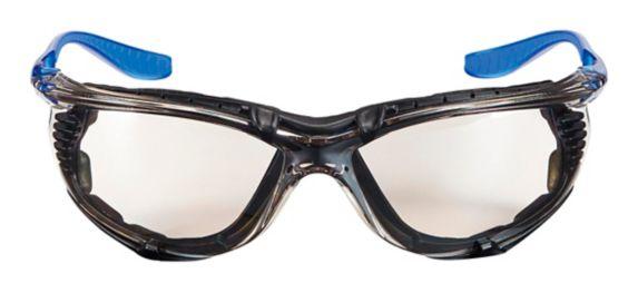 3M™ Foam Gasket Anti-Fog Safety Glasses, Blue Mirror Lens
