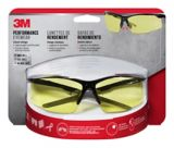 3M™ Performance Eyewear, Black/Grey, Amber Lens, Anti-Fog Safety Glasses | 3Mnull