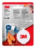 3M™ Corded Reusable Earplugs, Orange | 3M | Canadian Tire