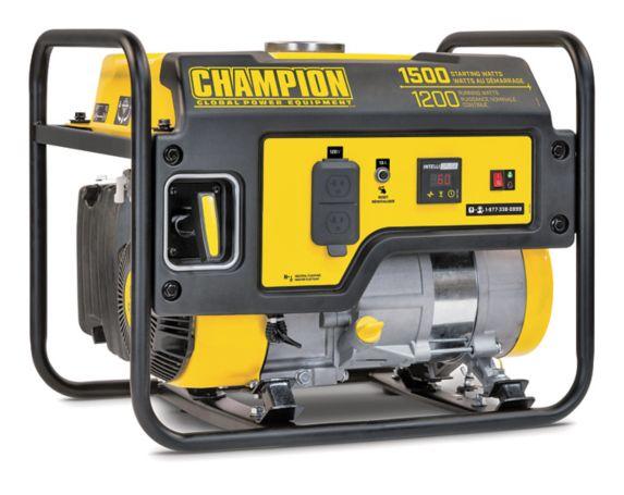 Champion 1200W / 1500W Portable Gas Generator Product image