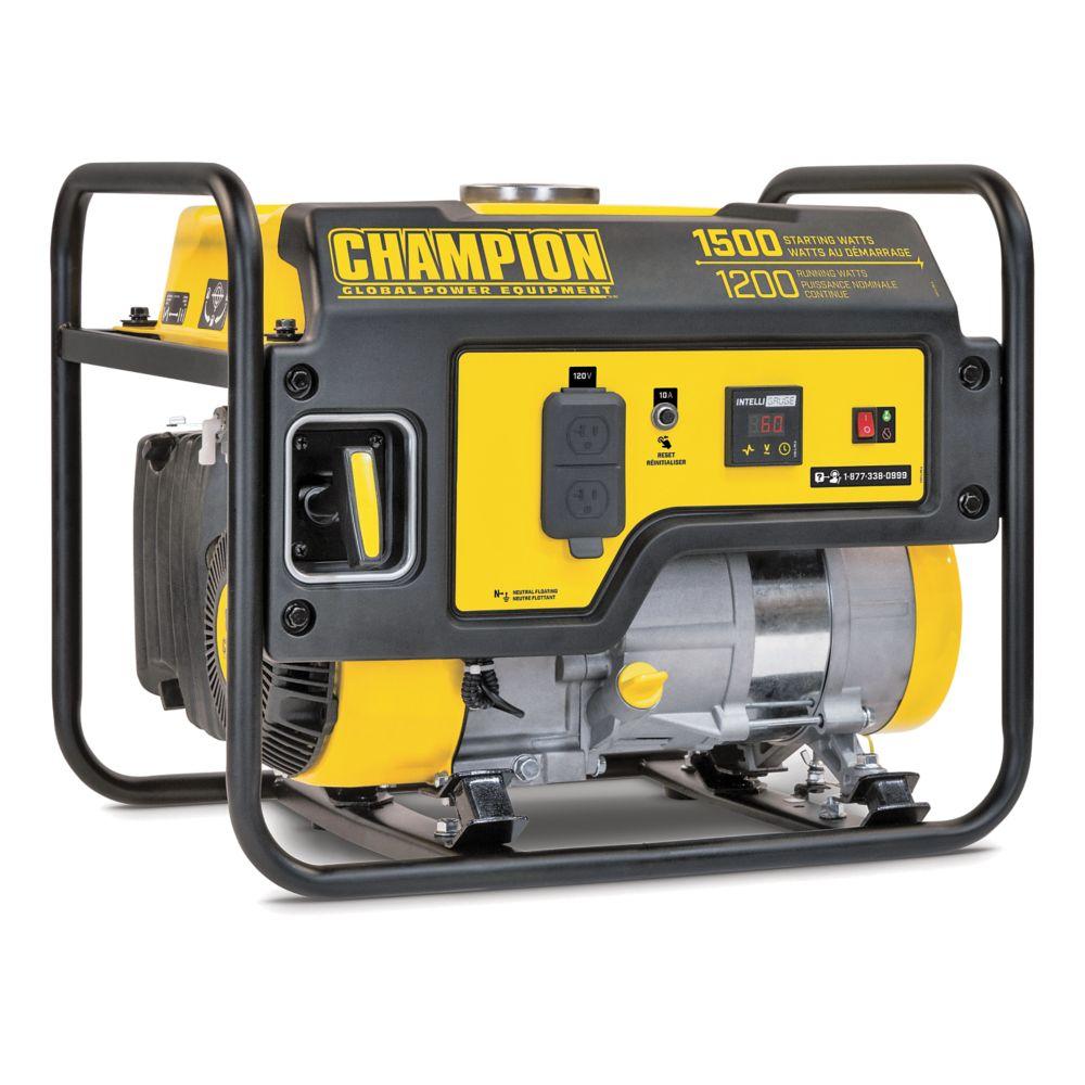 Champion 1200W / 1500W Portable Gas Generator