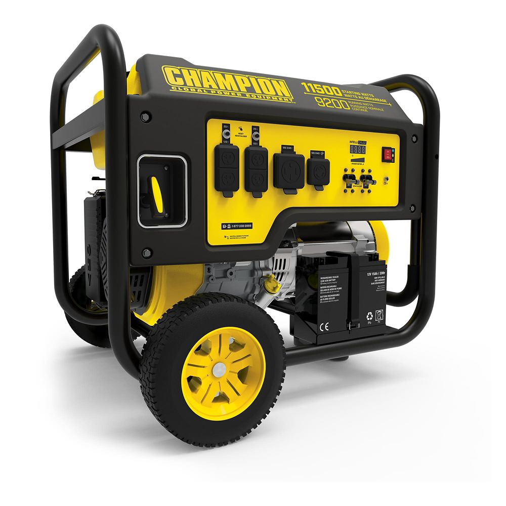 Champion 9200W / 11500W Gas Powered Portable Generator
