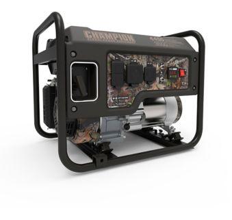 Champion 3550W / 4450W Portable Generator, Camouflage