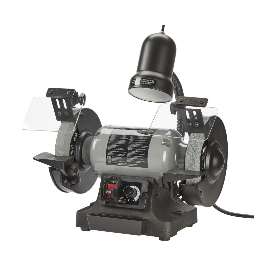 MAXIMUM Variable Speed Grinder, 6-in