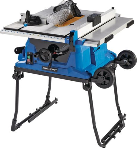 Mastercraft Portable Table Saw, 15A Product image