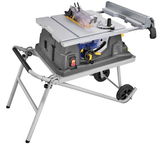 MastercraftMaximum 15ATable Saw with Stand, 10-in