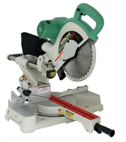 Hitachi 10-in Sliding Dual Compound Mitre Saw with Laser