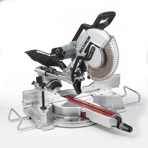 MAXIMUM 15A Dual-Bevel Sliding Mitre Saw, 12-in Product image
