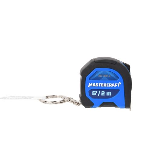 Mastercraft Keychain Tape Measure, 6-ft Product image