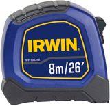 IRWIN Bi Material Tape Measure, 26-ft/8-m   Irwinnull