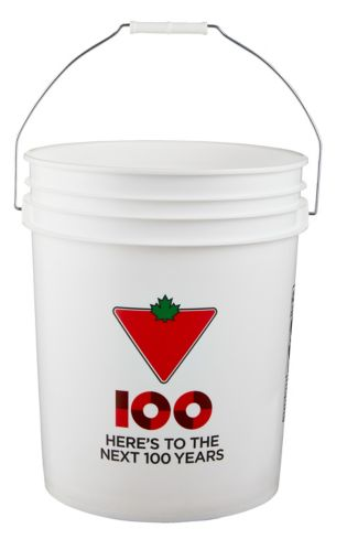 Canadian Tire Food Grade Approved Bucket, 5-Gallon