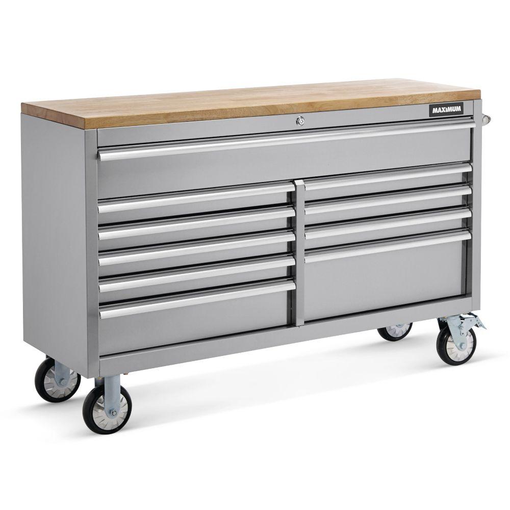 MAXIMUM 10-Drawer Cabinet, 55-in