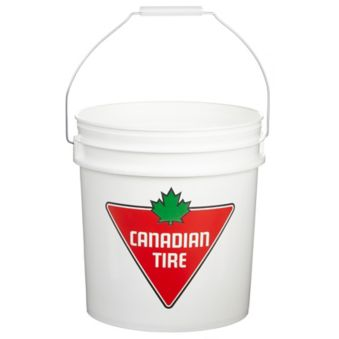 Canadian Tire Food Grade Approved Bucket, 2-Gallon | Canadian Tire