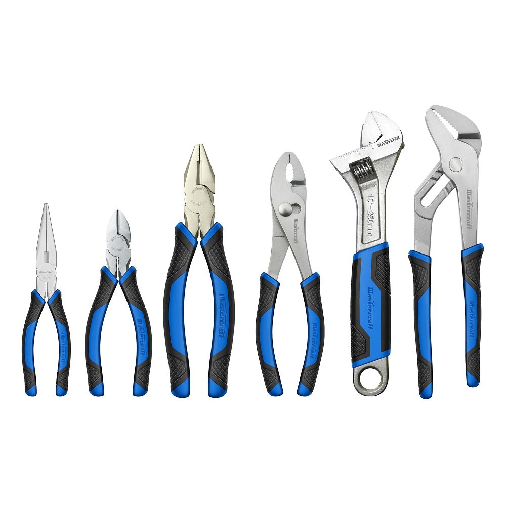 Mastercraft 6-piece Wrench & Plier Set
