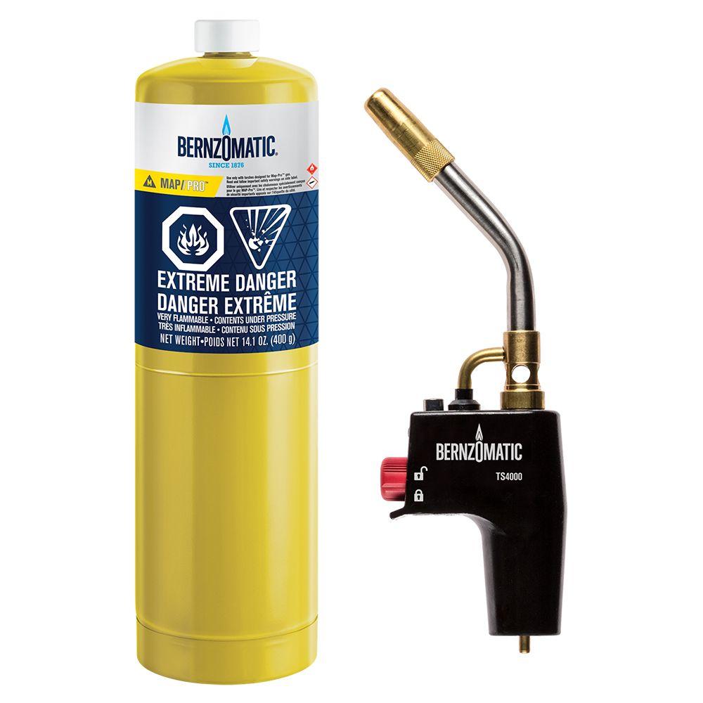 Bernzomatic TS4000 High Heat MAP/Pro Torch Kit